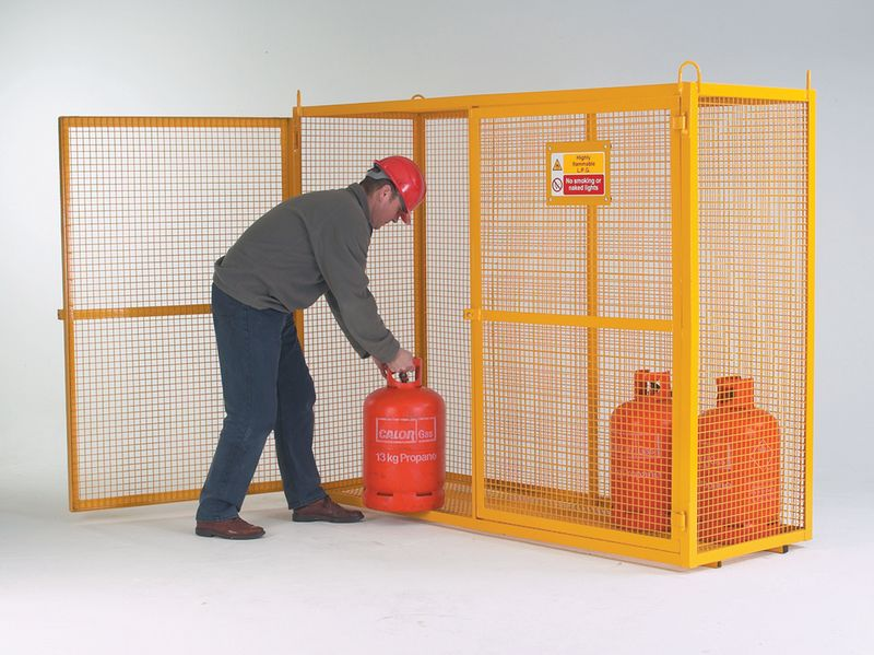 Security Cages - Mobile Enamel