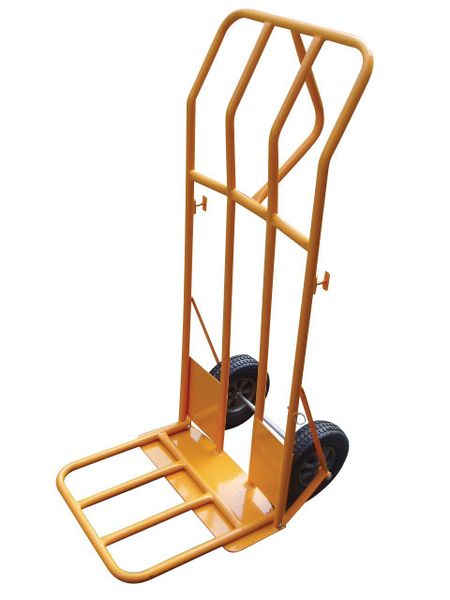 Heavy-Duty Folding Sack Truck - 400kg Load Capacity