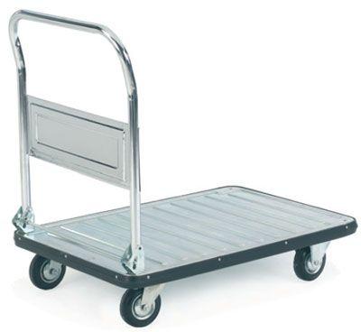 Galvanised Folding Platform Trolley