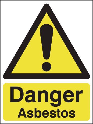 Danger Asbestos Signs