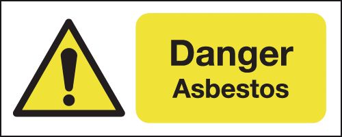 danger asbestos signs seton uk. Black Bedroom Furniture Sets. Home Design Ideas