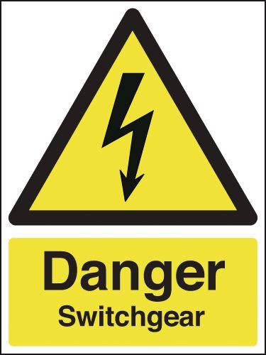 Danger Switchgear Signs