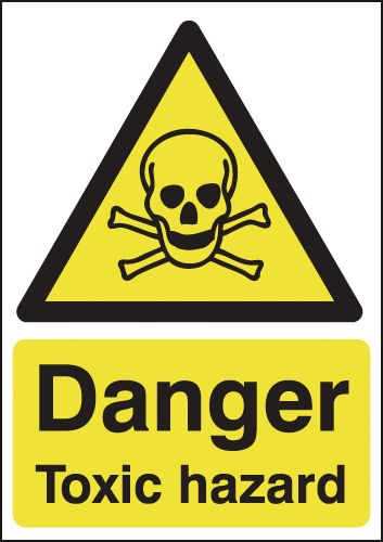 Danger Toxic Hazard Signs