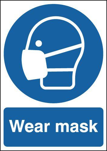 Wear Mask Sign