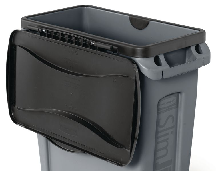 Rubbermaid Slim Jim® Containers - Swing Lid