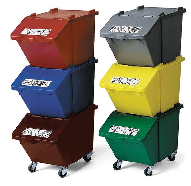 Stackable Recycling Boxes