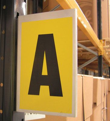 Magnetic & Self-Adhesive Edge Aluminium Bay Markers