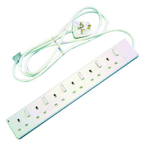 Extension Leads - 6 Socket with Switches