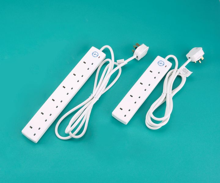 Surge Protected Extension Lead - 4 Sockets