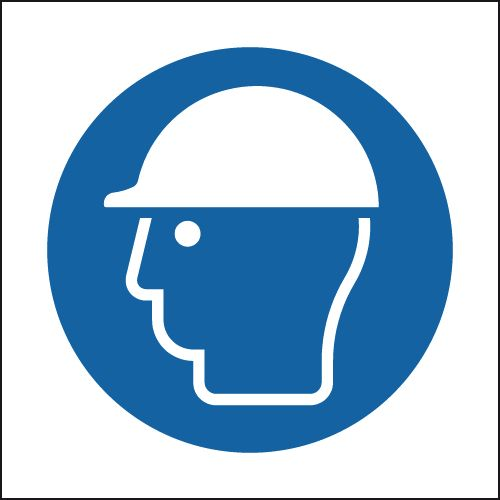 Helmet Symbol Sign