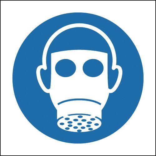 Respiratory Protection Symbol Sign