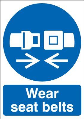 Wear Seat Belts Signs