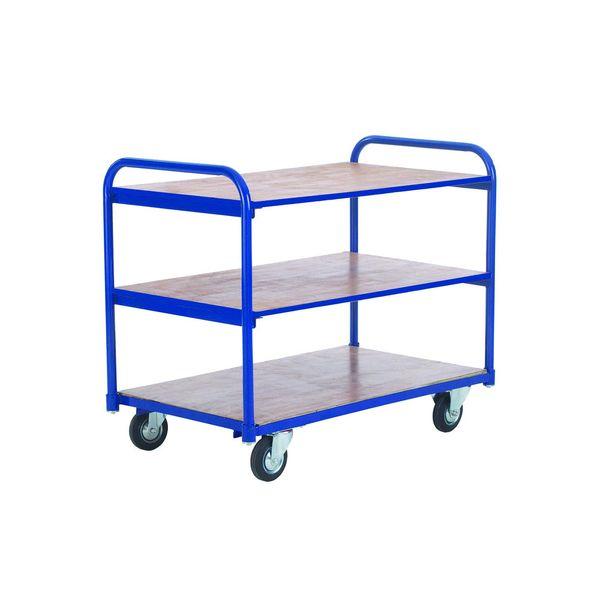 Economy Shelf Trolleys - 3 Shelf