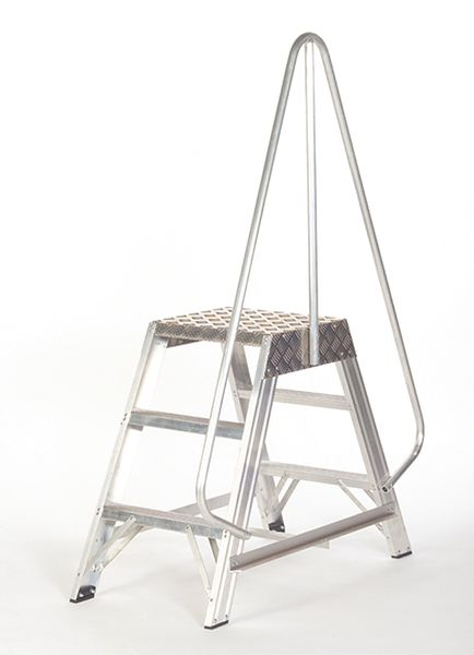 Double Sided Industrial Platform Stepladders