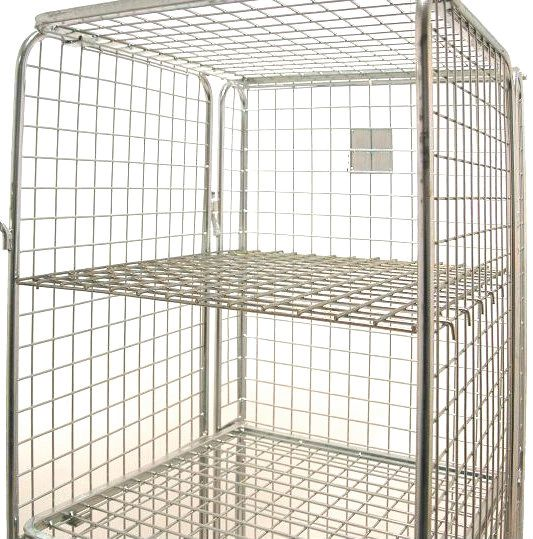 Shelves for Security Roll Pallets