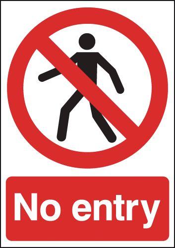 No Entry Signs Seton Uk