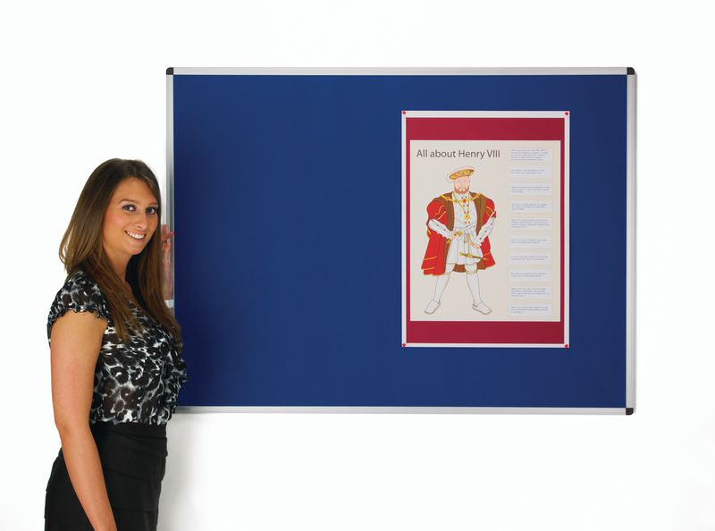 Fabric Face Notice Boards