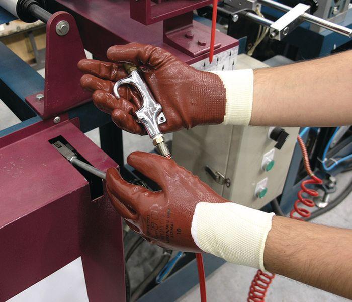 Matrix Nitrile Grip Gloves