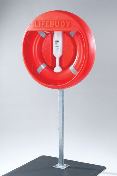 Post-Mounted Lifebuoy Housing