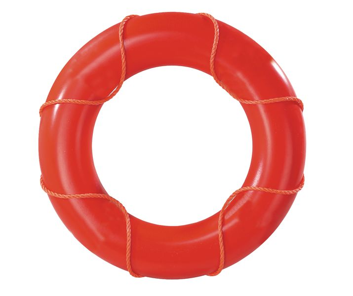 Lifebuoys without Reflective Tape