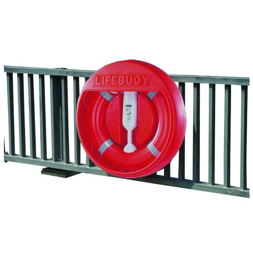 Rail Mounted Lifebuoy Housing