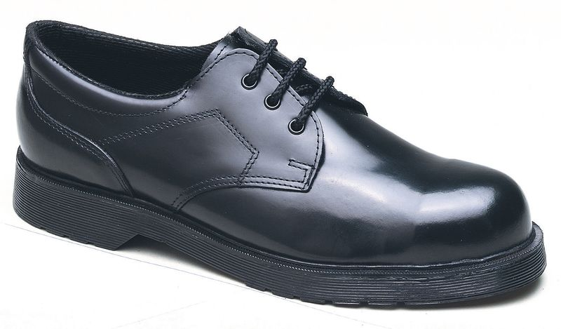 3-Eyelet Wide Uniform Safety Shoes