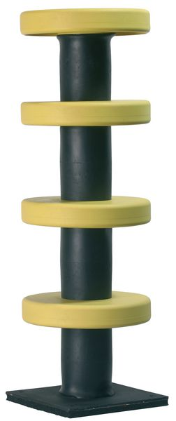 Steel & Rubber Impact Protector Column