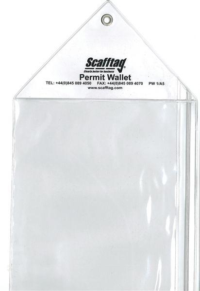 Scafftag® Permit Wallets