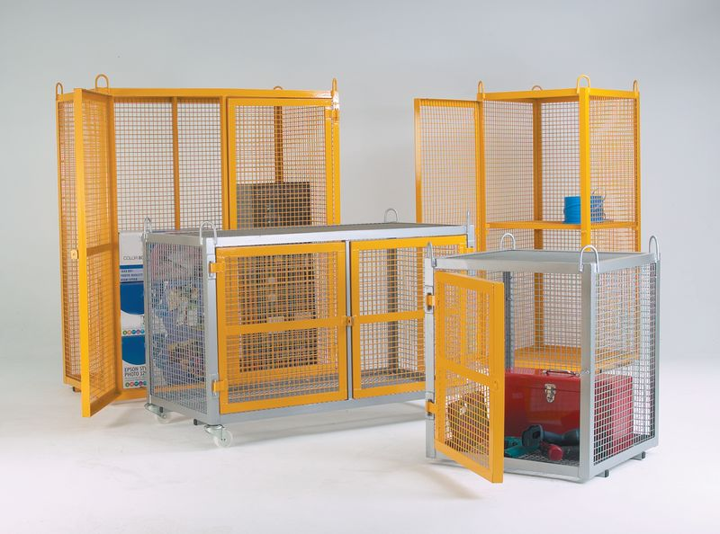 Security Cages - Static Galvanised