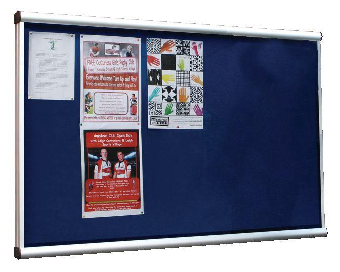 Exterior A4 Showcase Boards