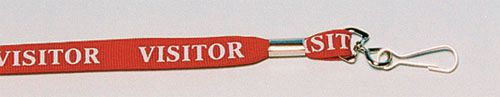 'Breakaway' Badge Lanyards - Visitor