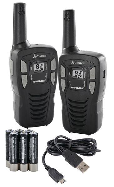Cobra MT245 PMR 2 Way Radios - Twin Pack