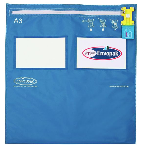 Envopak Re-Usable Security Bags - A4