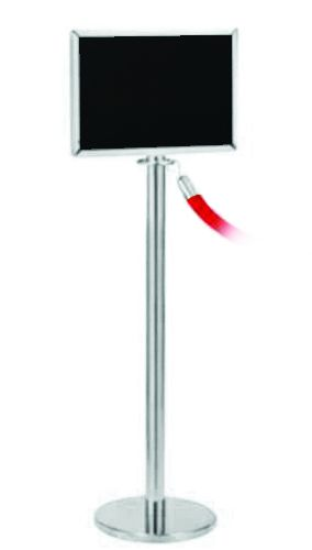 Sign Holders - Rope & Post Barrier System