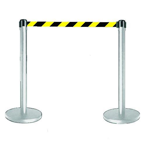 Tensabarrier® Barrier Stainless Steel Post/Webbing