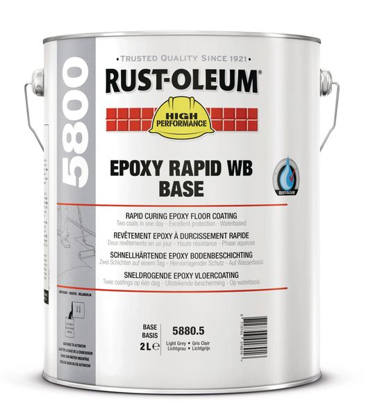Epoxy Rapid WB Floor Paint