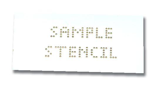 Setonmark Permanent Stencil Marking Kits