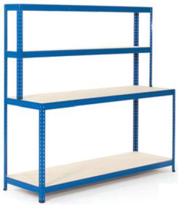 4 Shelf Economy Workbenches