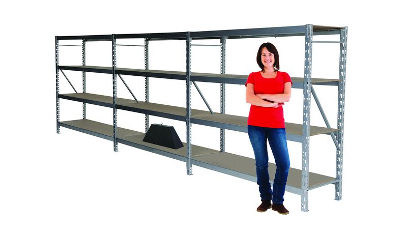 Budget Steel Widespan Safety Shelving