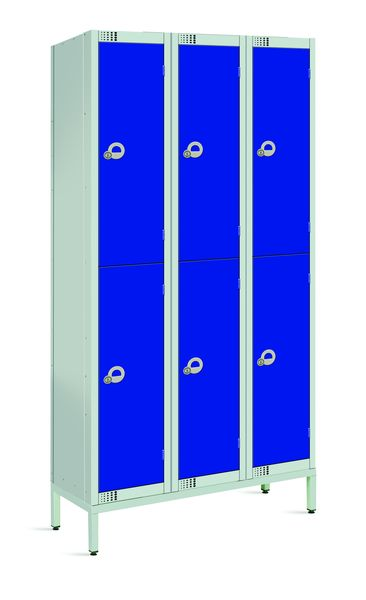 Standard Lockers with Stand & Sloping Tops