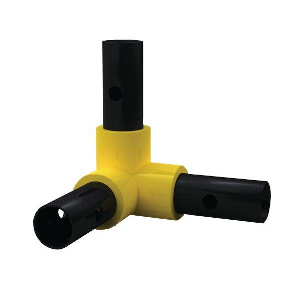 Warmagrip™ Modular Barrier System - 3 Way Elbow