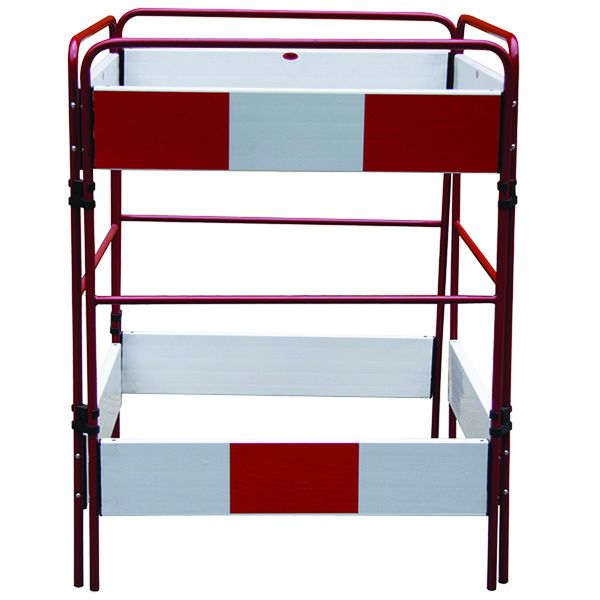 Three & Four Sided Temporary Safety Barriers
