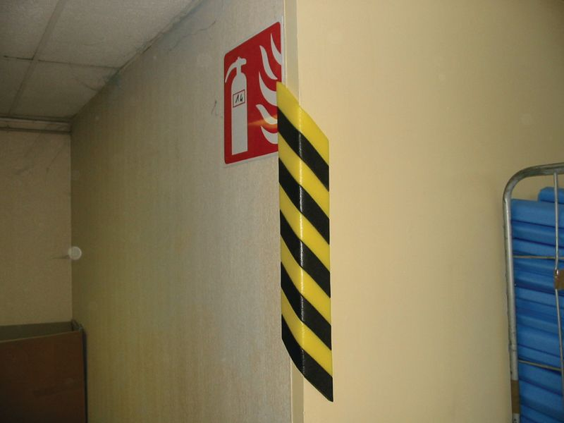Adhesive Edge Strip Safety Bumper