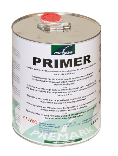 Thermoplastic Road Marking System - Primer