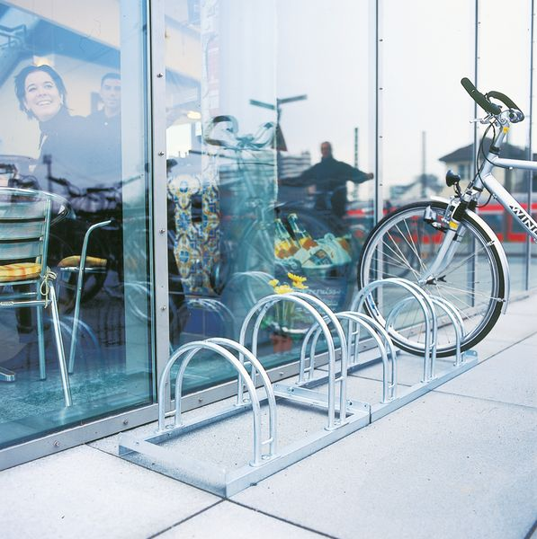 Floor-Mounted Bike Rack