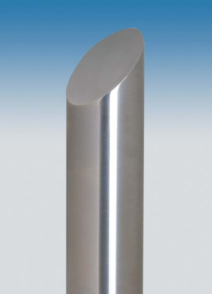 Chichester Stainless Steel Bollard - Sloped