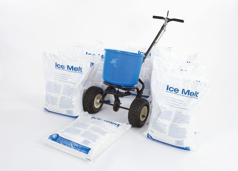 Ice Melt & 18 kg Spreader