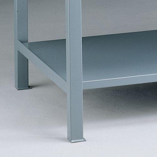 Lower Shelves for Steel Heavy-Duty Workbenches