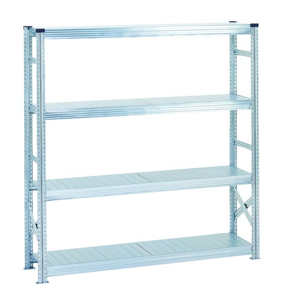Heavy-Duty ZincRack Shelving – Initial Bays