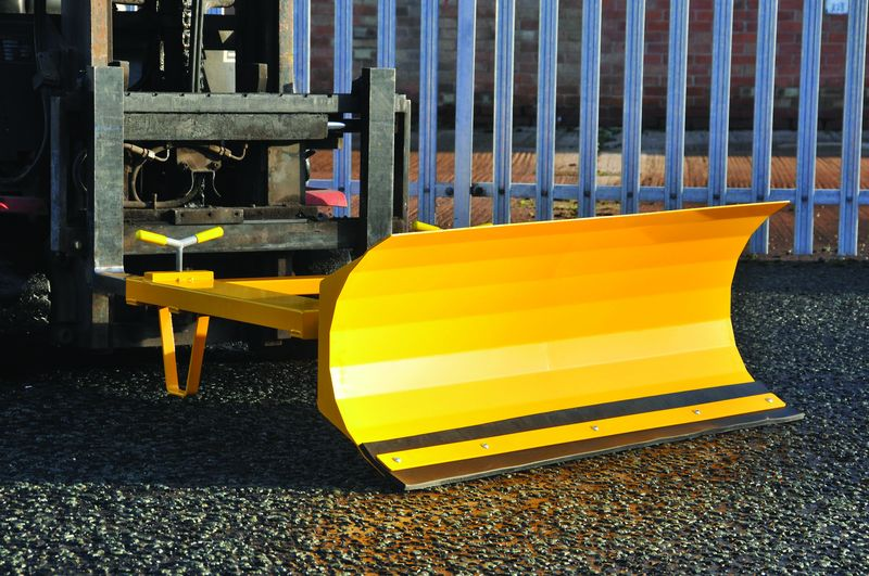Fork Lift Truck Snow Plough